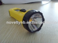 Rechargeable enviromental LED Flashlight