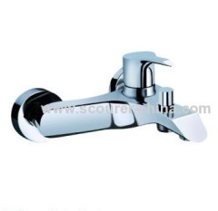 Wall Mounted Exposed Bath Shower Faucet Pb≤2.5%