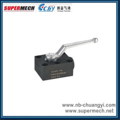 2-way Stainless Steel Ball Valve for Manifold Mounting