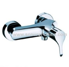 Wall Mounted Exposed Shower Faucet 2 pcs of decoration covers 1 pc of fittings pack