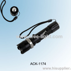 New Rechargeable 5W CREE R3 Police Flashlight ACK-1174