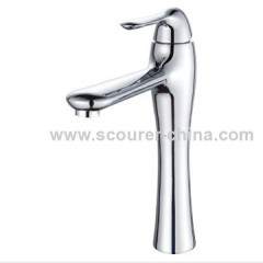 Single Lever Extended Mono Basin Faucet Zinc handles