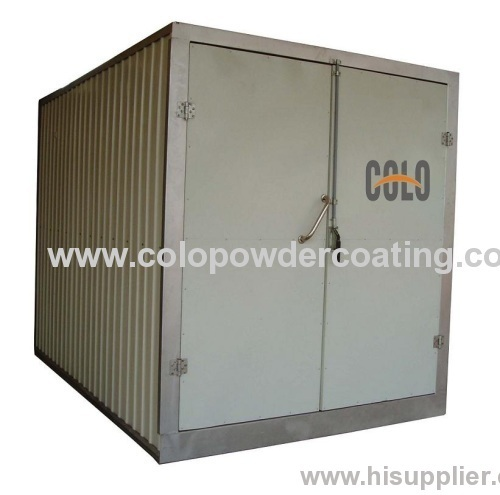 Fast heating industrial ovens