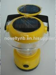 solar camping power lamp