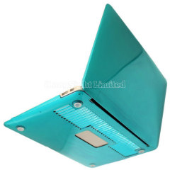 Straight line groove design Crystal Polycarbonate Plastic Protector Shell For 11-inch Macbook Air - Light Blue