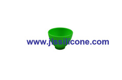 large and heat resistant silicone rubber feeding bowl and drink cup for children