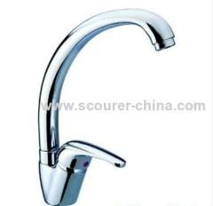 Single Lever Mono Kitchen Faucet with zinc alloy handle