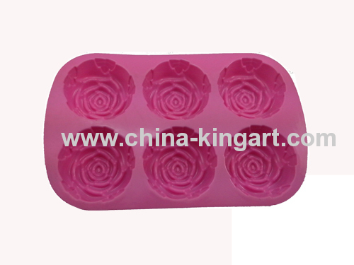 Silicone Cake Mold with Flower Design