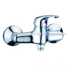 Safety Wall Mounted Exposed Shower Faucet