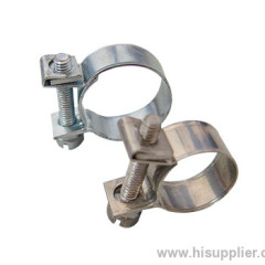 Mini type hose clamps