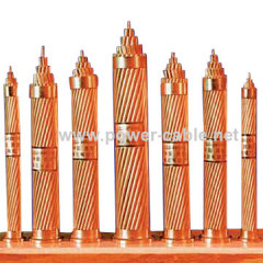 bare copper grounding cable 95mm2