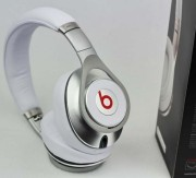 Beats by Dr Dre Executive Noise-Canceling Headphones White&Silver