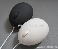 funny egg mouse mini gift mouse wired optical mouse