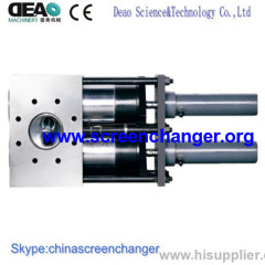 screen changer-continuous double piston screen changer