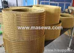 Woven Stainless Steel Mesh golden mesh