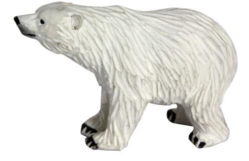 Wood Carved Animal Figurines-Polar Bear