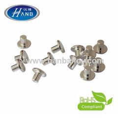 Silver Alloy Solid Rivet Contact