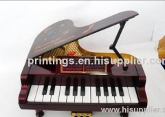Heat transfer film for piano