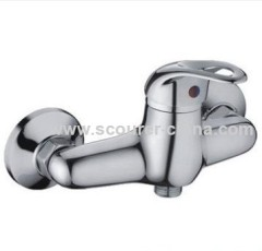 Wall Mounted Exposed Shower Faucet 1 pc of fittings pack