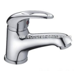 Single Lever Mono Basin Faucet chrome plated finished