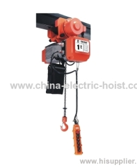 electric chain hoist with electric trolley wire rope hoist trolley