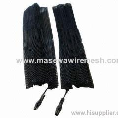 Fireplace spark curtain export the USA