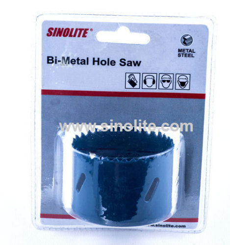 Bimetal hole saw sharp teeth