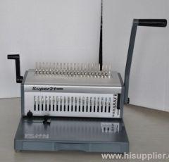 strong punching capacity comb binding machine