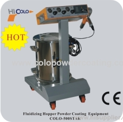 easy operate manual powder coating equipment