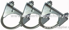 Standard High Quality Clamps For Automobile Exhaust Tube Clamp