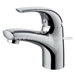 Single Lever Mono Basin Faucet with zinc alloy handle