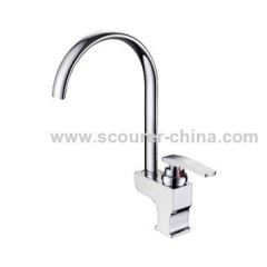 Single Lever Mono Kitchen Faucet for hot or cool water flow