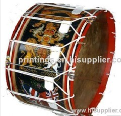 Heat transfer film for bass drum/wooden & plastic bass drum/printing sheets for musical instrument