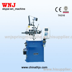 TK-316 National Patent Spring Coiling Machine with Japan Motor
