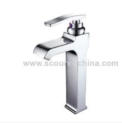 Single Lever Extended Mono Basin Faucet 35mm Wanhai ceramic cartridge
