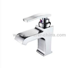Modern Design Single Lever Mono Basin Waterfall Faucet