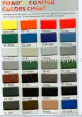 Art Crack Texture Polyester Powder Coating
