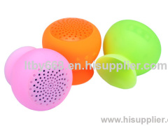 2013 China newest Sucker Wireless Bluetooth Speakers 3.0 support memory card