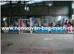 ultrasonic non woven fabric bag making machinery China
