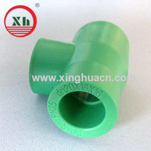 PPR Reducing Tee With Small Size 20*16*16mm