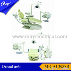 Left-right coverted dental unit