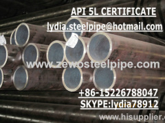 SCH80 HOT ROLLED SEAMLESS PIPE