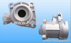 Sinotruck auto die casting parts for motor cover