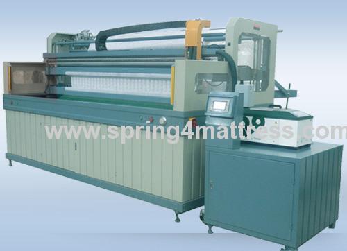 pocket spring assembling machine