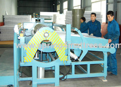 Pocket spring unit roll packing machine