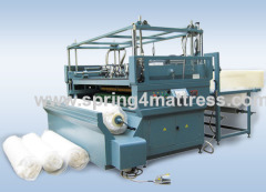 Mattress roll packing machine HS-MRP-25P