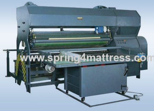 Spring unit roll packing machine