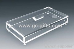 Elegant of transparent acrylic organizer display rack for cosmetic