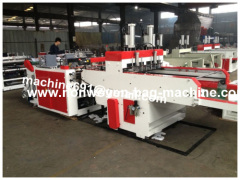China Full Automatic and High speed T-shirt bag making machine