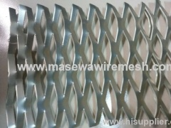 Expanded silver Aluminum Metal Mesh